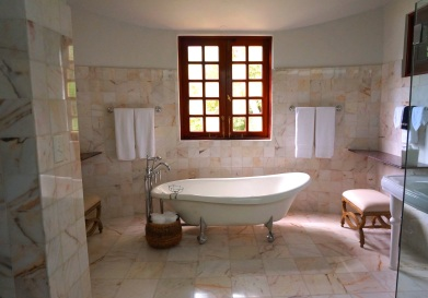 stock photo of a bathtub