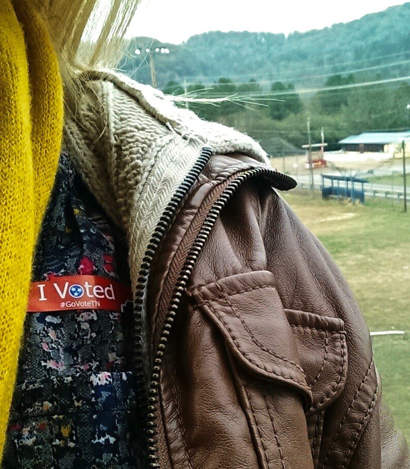 voted in TN sticker