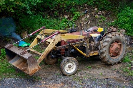 older tractor