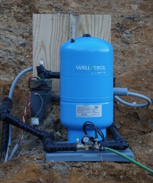 pressure tank for a well