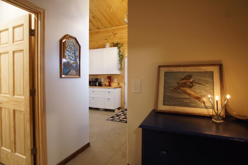 interior of barndominium