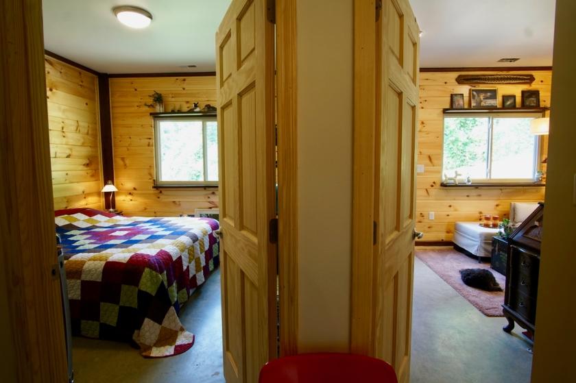 interior rooms of barndominium