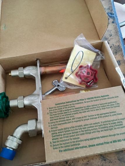 frost-proof hose bib